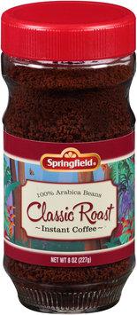 Springfield® Classic Roast Instant Coffee 8 oz. Jar