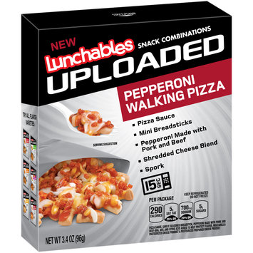 Lunchables Uploaded Pepperoni Walking Pizza