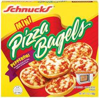 Schnucks Pepperoni Mini 9 Pieces Pizza Bagels 7 Oz Box