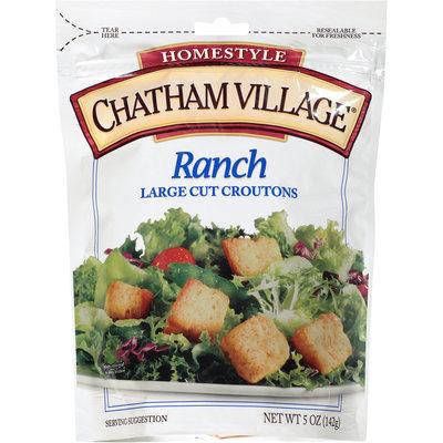 Chatham Village® Ranch Large Cut Croutons 5 oz. Bag
