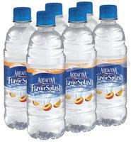 Aquafina® FlavorSplash® Peach Mango Water Beverage 6 Pack 16.9 fl. oz. Plastic Bottles