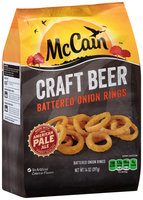 McCain® Craft Beer Battered Onion Rings 14 oz. Bag