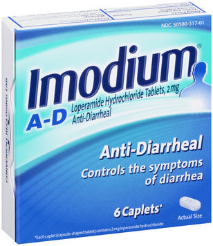 Imodium® A-D Anti-Diarrheal Caplets 6 ct Box