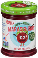 CherryMan® Farm to Market™ Maraschinos Stemless Cherries