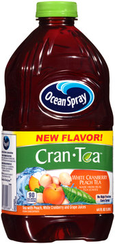 Ocean Spray® Cran-Tea™ White Cranberry Peach Tea 64 fl oz. Bottle
