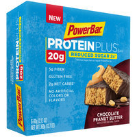 PowerBar® ProteinPlus® Peanut Butter Chocolate Protein Bars 6-12.7 oz. Wrappers