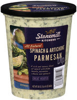 Stonemill® Kitchens All Natural Spinach & Artichoke Parmesan Dip 30 oz. Tub