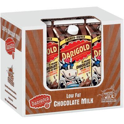 Darigold Chocolate Low Fat Half Gal Milk 6 Pk Corrugated Display