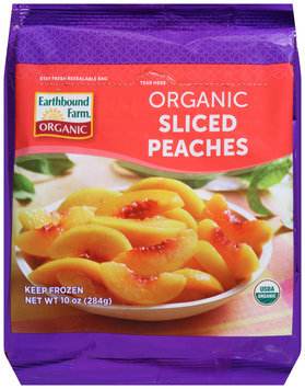 Earthbound Farm® Organic Sliced Peaches 10 oz. Bag
