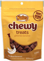 Nutro® Chewy with Real Bananas Dog Treats 4 oz. Pouch