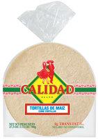 Calidad Corn  Tortillas 27.5 Oz Bag