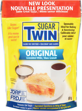 Sugar Twin® Original Granulated White Sweetener 80g Bag