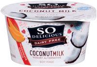 So Delicious® Dairy Free Coconut Milk Passionate Mango Yogurt Alternative 5.3 oz. Tub