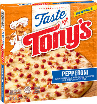 Taste of Tony's™ Pepperoni Pizza 7.12 oz. Box