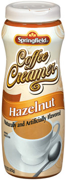 Springfield Hazelnut Coffee Creamer 15 Oz Canister