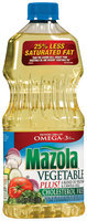 Mazola Blend of Vegetable & Canola Oils Vegetable Plus! 40 Fl Oz Plastic Bottle