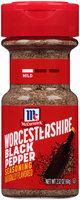 McCormick® Worcestershire Black Pepper Seasoning 2.12 oz. Shaker