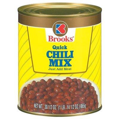 Brooks Quick Chili Mix 30.5 Oz Can