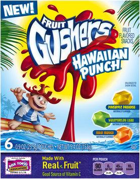 Fruit Gushers™ Hawaiian Punch Fruit Flavored Snacks