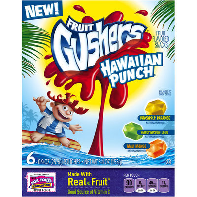 Fruit Gushers™ Hawaiian Punch Fruit Flavored Snacks