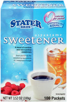Stater Bros.® Aspartame Sweetener 100 packets