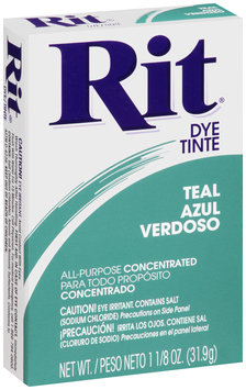 Rit® All-Purpose Concentrated Teal Dye 1.125 oz. Box