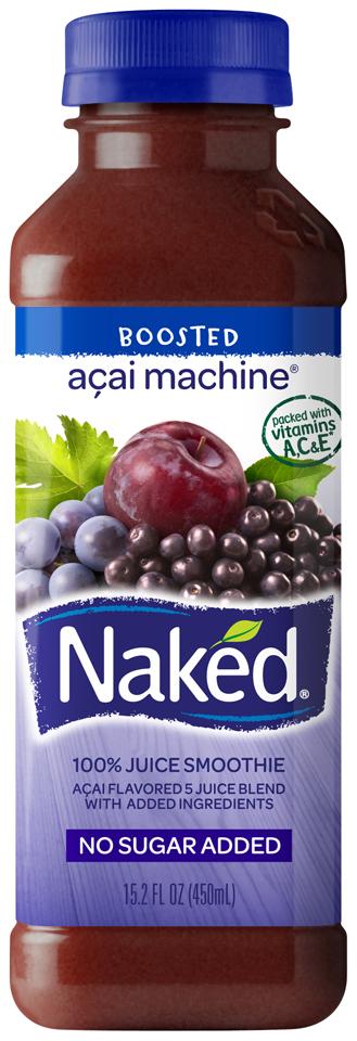 Naked Juice Acai Machine Juice Smoothie
