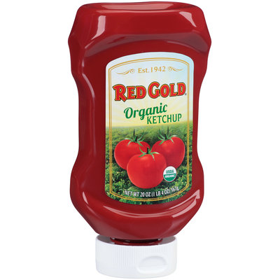 Red Gold® Organic Ketchup 20 oz. Bottle
