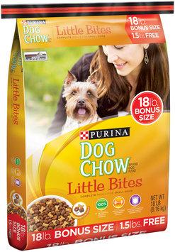 Purina Dog Chow Little Bites Dog Food Bonus Size 18 lb. Bag