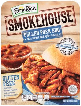Farm Rich® Smokehouse Pulled Pork BBQ 16 oz. Box
