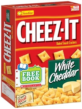 Cheez-It® White Cheddar Baked Snack Crackers 12.4 oz. Box