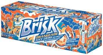 Lipton Brisk® Orangeade Juice Drink Cans