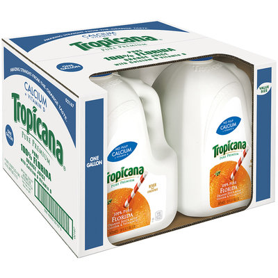 Tropicana® Pure Premium Vitamin D + Calcium Orange Juice
