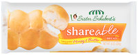 Sister Schubert's® Lightly Brushed with Honey & Butter Shareable™ Bread 8 oz. Bag
