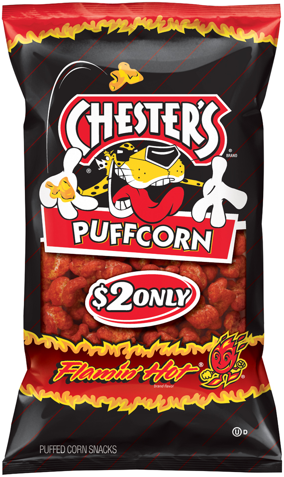 chester's® flamin' hot® puffcorn