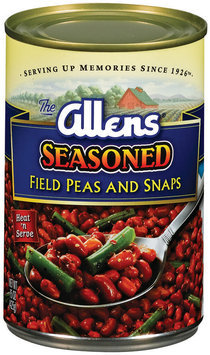 The Allens Seasoned Field Peas & Snaps 15 Oz Can