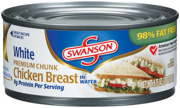 Campbell's Swanson Breast White Premium Chunk In Water Chicken