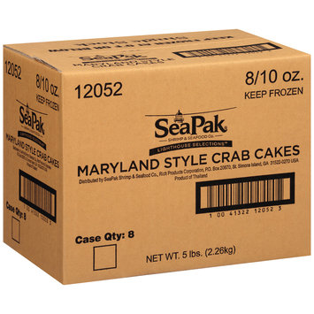 SeaPak® Lighthouse Selections™ Maryland Style Crab Cakes