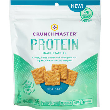 Crunchmaster™ Protein Sea Salt Snack Crackers