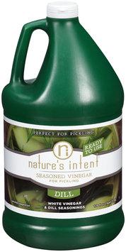 Nature's Intent® Dill Seasoned Vinegar for Pickling 128 fl. oz. Jug
