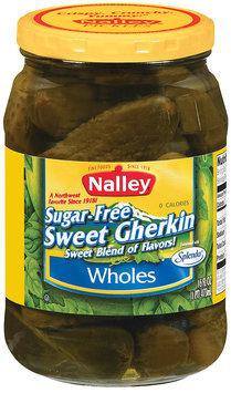 Nalley® Sugar-Free Sweet Gherkin Wholes Pickles 16 fl. oz. Jar