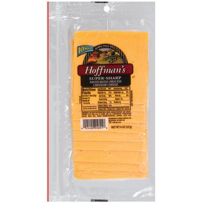 Hoffman's Super-Sharp Cheese Slices 10 Ct Peg