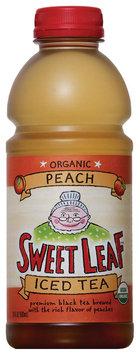 Sweet Leaf Peach Iced Tea 20 fl. oz. Plastic Bottle