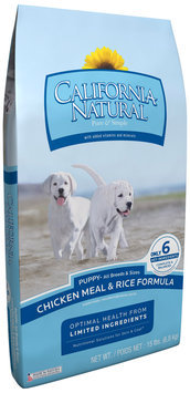 California Natural® Chicken Meal & Rice Formula Puppy Food