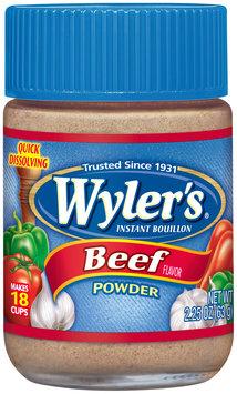 Wyler's® Beef Flavor Instant Bouillon Powder 2.25 oz. Jar