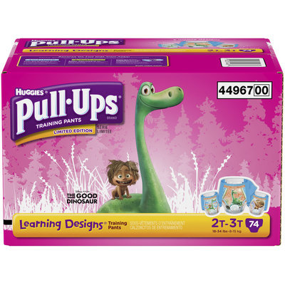 Huggies® Pull•Ups® Learning Designs® 2T-3T Training Pants 74 ct Box