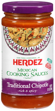 Herdez® Traditional Chipotle Mexican Cooking Sauce 12 oz. Jar
