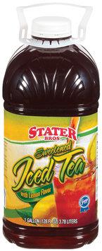 Stater Bros. Sweetened W/Lemon Iced Tea 1 Gal Plastic Jug