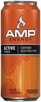 AMP® Energy Active Orange 16 fl. oz. Can