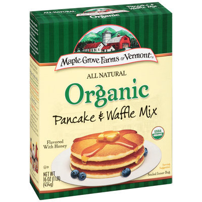 Maple Grove Farms of Vermont® Organic Pancake and Waffle Mix 1 lb. Box
